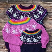 Last <b>Unicorn</b> SweaterAdult: Knitting <b>pattern</b> | Ribblr