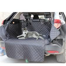 Dog Car <b>Seat Cover</b> Waterproof Anti dirty Car <b>Trunk Pad</b> Pet Strap ...