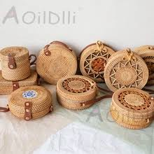 Buy <b>round straw bag</b> and get free shipping on AliExpress