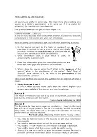 gcse utility of sources doc jpg the most dangerous game general zaroff essay
