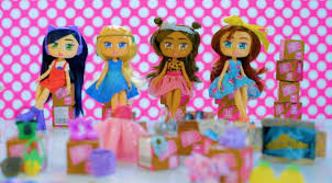 <b>Boxy Girls</b>: <b>куклы</b>-шопоголики с покупками!