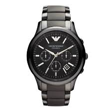 emporio armani ceramic men s watch 0001714 beaverbrooks the emporio armani ceramic men s watch