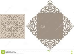 invitation card template stock vector image  laser cut envelope template for invitation wedding card stock photography