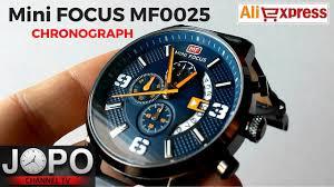 <b>Mini FOCUS</b> MF0025G - <b>Chronograph</b> Blue <b>Watch</b>  Wristwatch Review