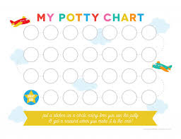 printable potty training chart printable potty training chart