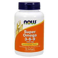 NOW (НАУ Фудс) <b>Супер Омега 3-6-9</b> капсулы 1600 мг 90 шт ...