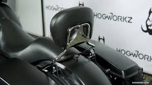 HogWorkz - <b>Sissybar</b> w/ Backrest Quick <b>Detachable</b> Installation ...