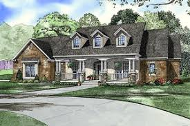 Louisiana House Plans   Houseplans comCountry style home  elevation