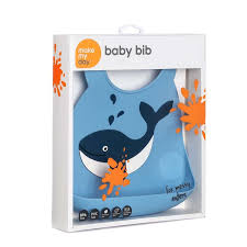 <b>Make My Day Нагрудник</b> Baby Bib - Whale, китенок по цене: 1290 ...
