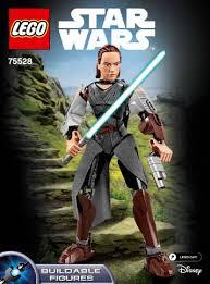 <b>LEGO 75528</b> Rey Instructions, <b>Star Wars</b>