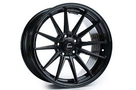 Cosmis Racing R1 18x10.5 +30mm <b>5x114</b>.<b>3</b> Black Rim Wheel ...