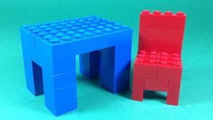 Lego Furniture How To Build Lego Table And Chair Furniture 4628 Legoar Fun