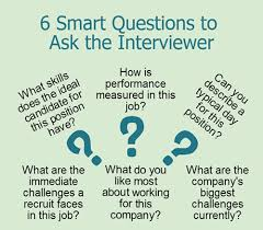 student job interview questions and answers be ready a number of insightful questions to ask the interviewer these 6 smart questions are a good starting point student job interview tips