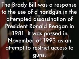 「Brady Handgun 」の画像検索結果