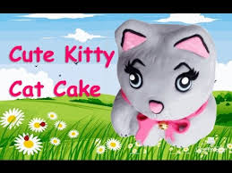How to make a <b>Cute Kitty Cat</b> Cake from <b>Creative</b> Cakes by Sharon ...