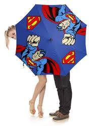 """Зонты c прикольными принтами """"superman"""" - <b>Printio</b>"""