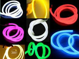 String & Fairy Lights Home & Garden 360 Degree Round <b>LED</b> Neon ...