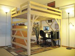 cool full loft bed with desk and futon bed desk dresser combo home