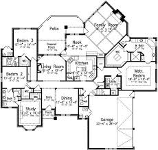 496 best house plans images on pinterest house floor plans One Story House Plans With Mother In Law Quarters style house plans 3091 square foot home, 1 story, 4 bedroom and 3 Detached Mother in Law Plans