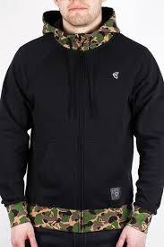 <b>Толстовка FAMOUS Blended Zip</b> Hoodie (Black-Camo, L) | www.gt ...