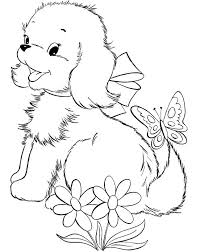 Small Picture 335 best Coloring book dogs images on Pinterest Coloring books