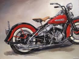 Мотоцикл <b>Harley</b>-<b>Davidson</b> WL 1939 (вторая картина) — купить в ...