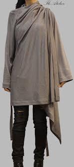 Grey <b>Loose</b> Asymmetrical Cardigan/<b>Summer Cape</b> Coat/Linen Knit ...