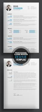 best ideas about professional resume design cv creative clearn professional resume template more