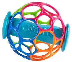 <b>Игрушка для ванной</b> Oball Мячик с <b>поплавком</b> — купить по ...