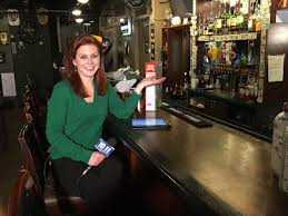 joanna bouras on hanging out at mckinneyspub bar joanna bouras on hanging out at mckinneyspub bar manager michael stelzner previewing stpatricksday fun lnk 1011 news