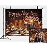 UsaSales New Year Photo Background Christmas ... - Amazon.com