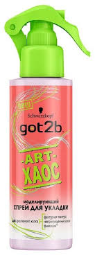 Got2b <b>Моделирующий спрей</b> Art-хаос, <b>экстрасильная фиксация</b> ...