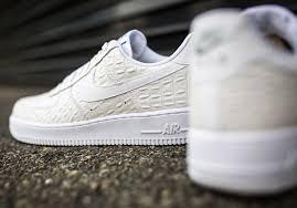 nike air force 1 low croc white 5 air force crocodile white