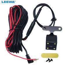 LEEWA <b>1pcs Car</b> 2.5mm(4Pin) Jack Port Video Port <b>Rear View</b> ...