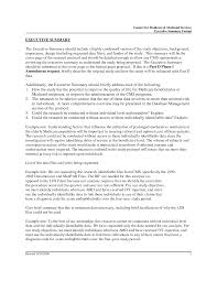 executive summary template example xianning executive summary template example resume executive summary of manager is the brief to apa format
