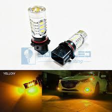 <b>2pcs</b> Amber Yellow <b>P13W</b> 15w High Power Bright Car <b>LED Bulbs</b> ...