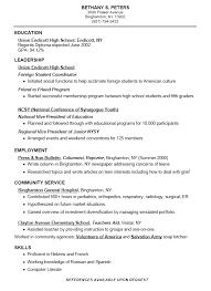 high school resume examples   camgigandet orgcompu type resume service student resume sample high school wpkjk ie