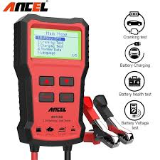 ANCEL BST100 <b>Car</b> Battery Tester <b>12V</b> 220Ah 2000CCA ...