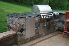 Countertop For Outdoor Kitchen Pittsburgh Outdoor Kitchens Backyard Built In Gas Bbq Grill
