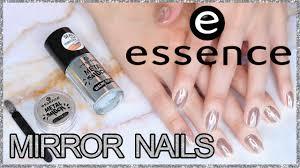 MIRROR NAILS YOU CAN DO AT HOME - <b>Essence</b> Metal <b>Shock</b> ...