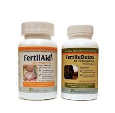 FertilAid for <b>Women & FertileDetox</b> - 1 Month Supply - Buy Online in ...