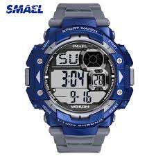 <b>SMAEL Digital</b> LED Watch Men <b>Luxury</b> Brand Military <b>Wristwatch</b> For ...