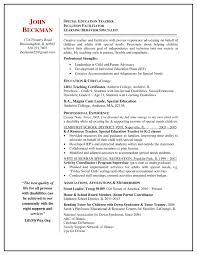 resume spanish resume sle teacher  seangarrette coresume
