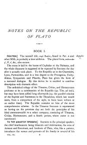 plato republic essay  wwwgxartorg critical commentaries and studies on plato s republic vols sample pages