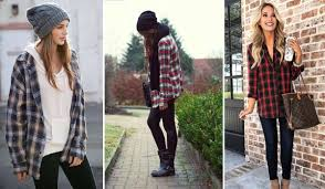 Cute Outfits with Flannels in <b>2019</b> - 11 <b>New</b> Trends - <b>Plaid</b> Lover