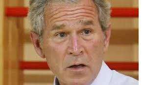 George Bush, who claimed the use of waterboarding helped save British lives - George-Bush-who-claimed-t-006