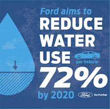 ford sets long term goal to use zero potable drinking water in ford is aiming to reduce its use of the world s most precious resource water