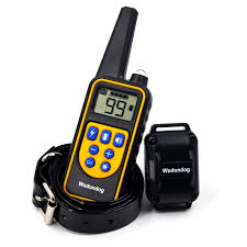 <b>Waterproof</b> Rechargeable Remote Control Dog Electric Training ...
