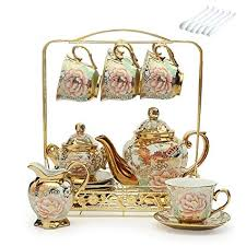 European Ceramic Household Coffee Cup Tea Set <b>Creative Palace</b> ...