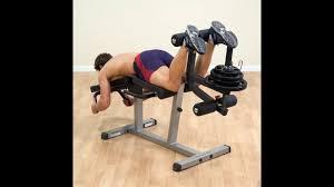 <b>Скамья</b> для тренировки мышц ног BodySolid GLCE-365 - YouTube